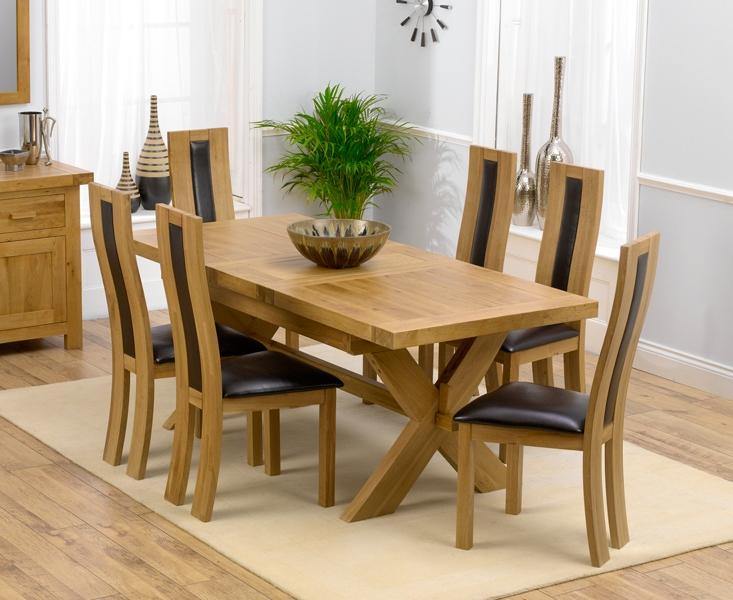 Bellano Solid Oak Extending Dining Table 160 200cm amp 6  : 1682202088472703 from rosebys.co.uk size 733 x 600 jpeg 299kB
